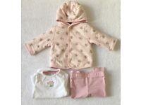 Junior J Baby Girl Set 0 - 3 Months