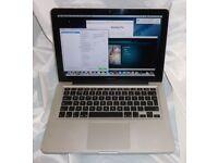 Macbook Pro 13 inch 2010 - 2011 apple laptop Intel 2.4ghz processor in full working order
