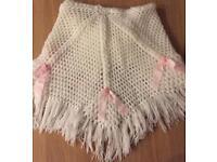 Beautiful handmade crochet baby's blanket
