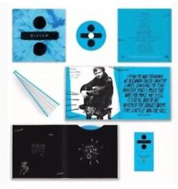 Ed Sheehan ltd divide box set vinyl cd collectors edition now sold out - records