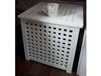 Ikea Hol side table/ storage box