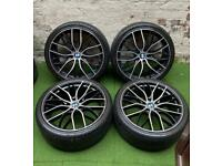 """BMW 20"""" Alloy Wheels & Tyres (5x120)"""