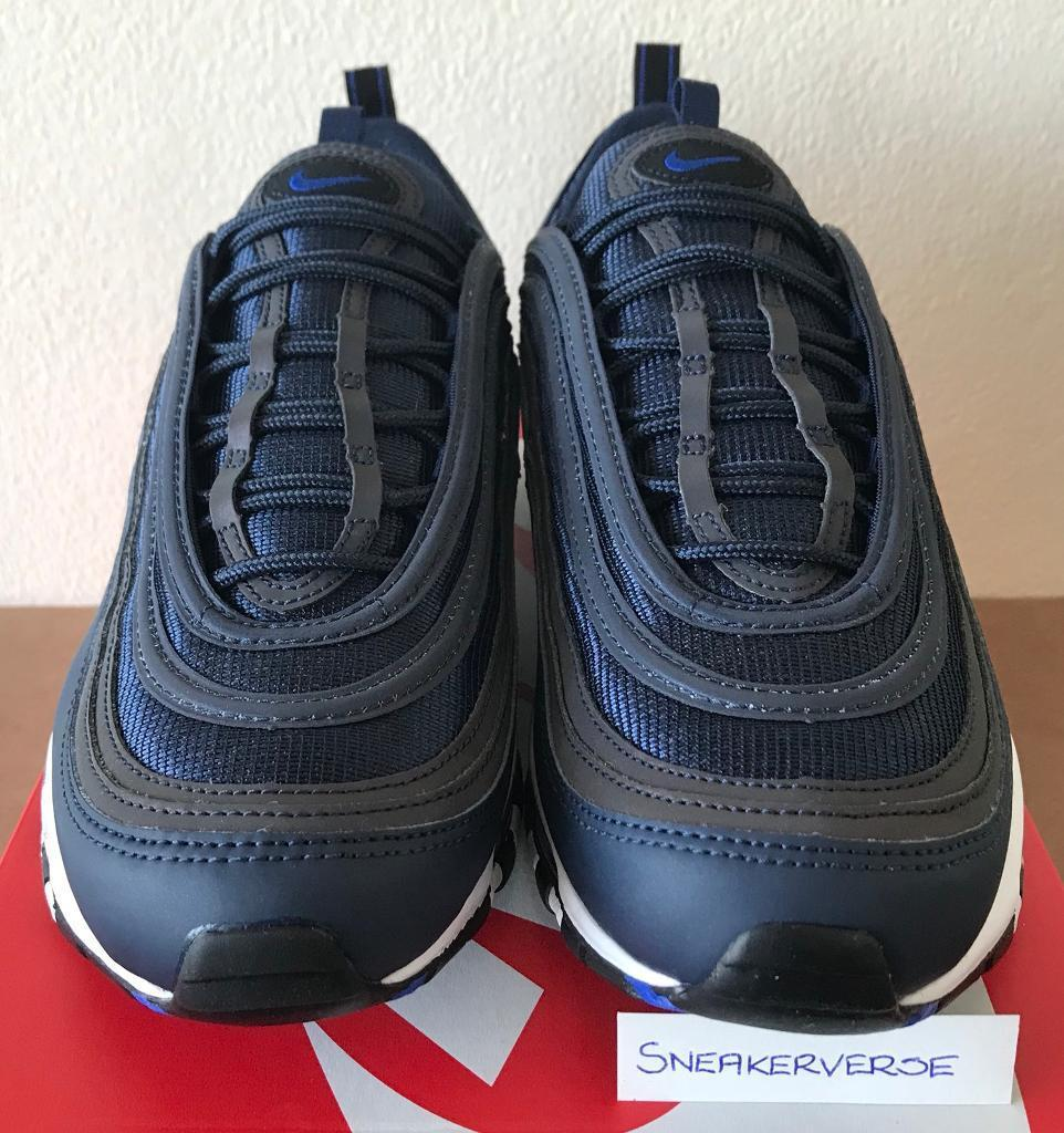 competitive price f5a4a 30ca6 Nike Air Max 97 'Eternal Future' Obsidian Blue White Multiple Sizes - 921826  402