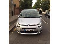 64 Plate Citroen Grand C4 Picasso 1.6 e-HD automatic can be used for Pco / Uber XL