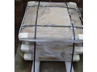 3 Acanthus pier caps to suit two brick piers Bathstone colour