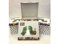 The Hungry Caterpillar Large Collapsible Storage Boxes x3 - Enderby - STA21
