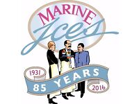 MARINE ICES - looking for Gelato Serving Staff! Come and join the team!