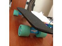 Handmade Penny Board Wooden Black (Skateboard) EDGE