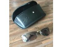 Rayban RB3183 Top Bar, Sunglasses with case