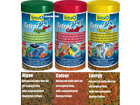 Fish food - Tetra Pro Colour/Energy/Algae and more... refill bags