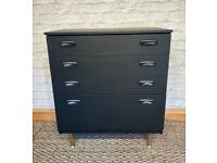 Vintage Schreiber chest of drawers