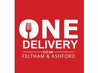 PART TIME DELIVERY DRIVER WANTED FOR FELTHAM & SPELTHORNE AREA