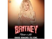 2x Britney Spears tickets scarborough level 3 standing.. to be collected at the venue.