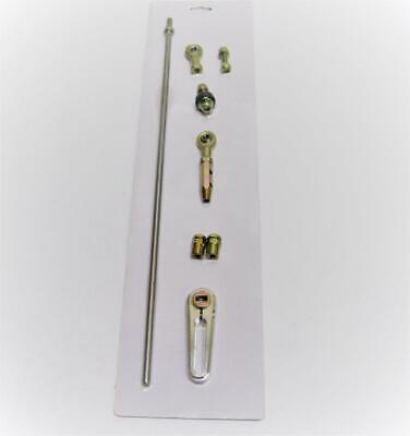 Adjustable GM Transmisson Column Shift Linkage Kit For 350 700R4 4L60E 4L80E ()