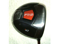 Men Right handed Callaway Fusion FT5 draw driver with headcover 10 degrees Stiff graphite shaft VGC