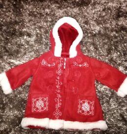 Baby gap Christmas coat