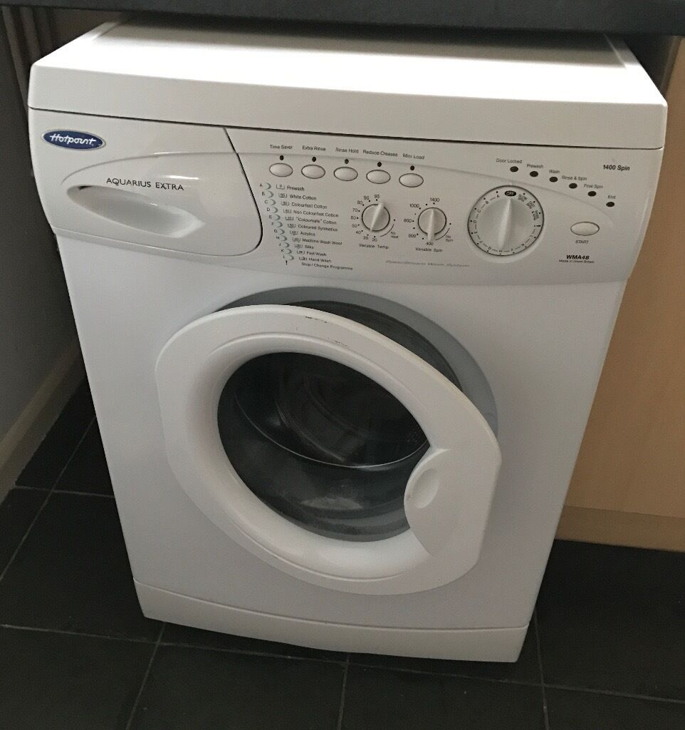 hotpoint aquarius extra washing machine in norwich norfolk gumtree. Black Bedroom Furniture Sets. Home Design Ideas