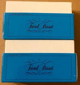 Trivial Pursuit Young Players Edition 2 Boxes Of Cards From 1984 Edition. VGC.