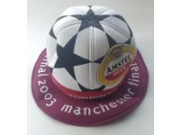 2003 Champions League Final Hat AC Milan v Juventus played at Manchester United