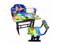 CHARACTER Kids Study Table & Chair- SPIDER MAN, FROZEN. BEN 10