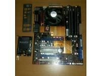 Asus motherboard intel quad 8gb ram