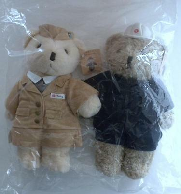 New Limited Edition Hong Kong Mtr Techniician   Train Ambassador Teddy Bears