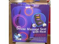Woolworths Deluxe Massage seat with heat - for use at home or in the car