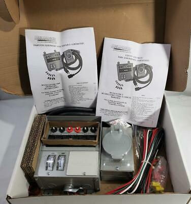 31406cwk Reliance Indoor Transfer Switch Kit 30a For Portable Generators