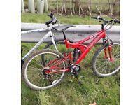 Red bike TRAX TFS 1