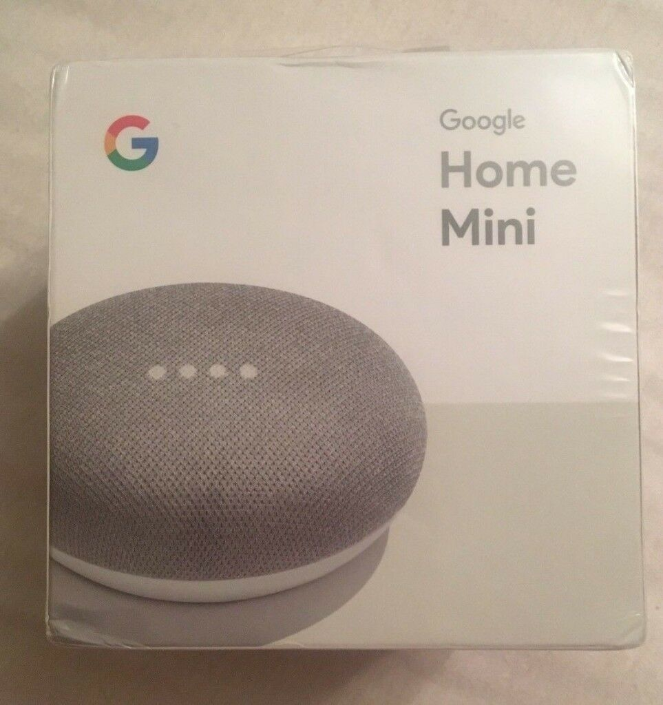 Google Home Mini! Chalk! Brand New Sealed!