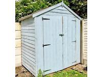 6'x4' shed 1year old