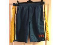 Men's Adidas Y3 swim shorts
