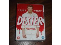 DEXTER TV SERIES SEASONS 1 2 3 7 DISCS