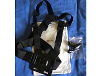 Chest Mount Harness Strap for All Types of Gopro Action Camera (New)