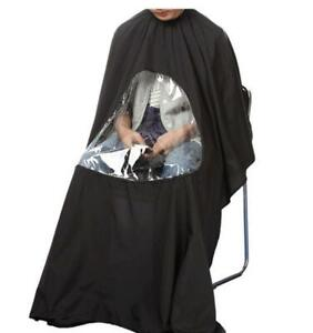 NEW HAIR CUTTING CAPE SALON VIEWING WINDOW BARBER CLOTH 628BW