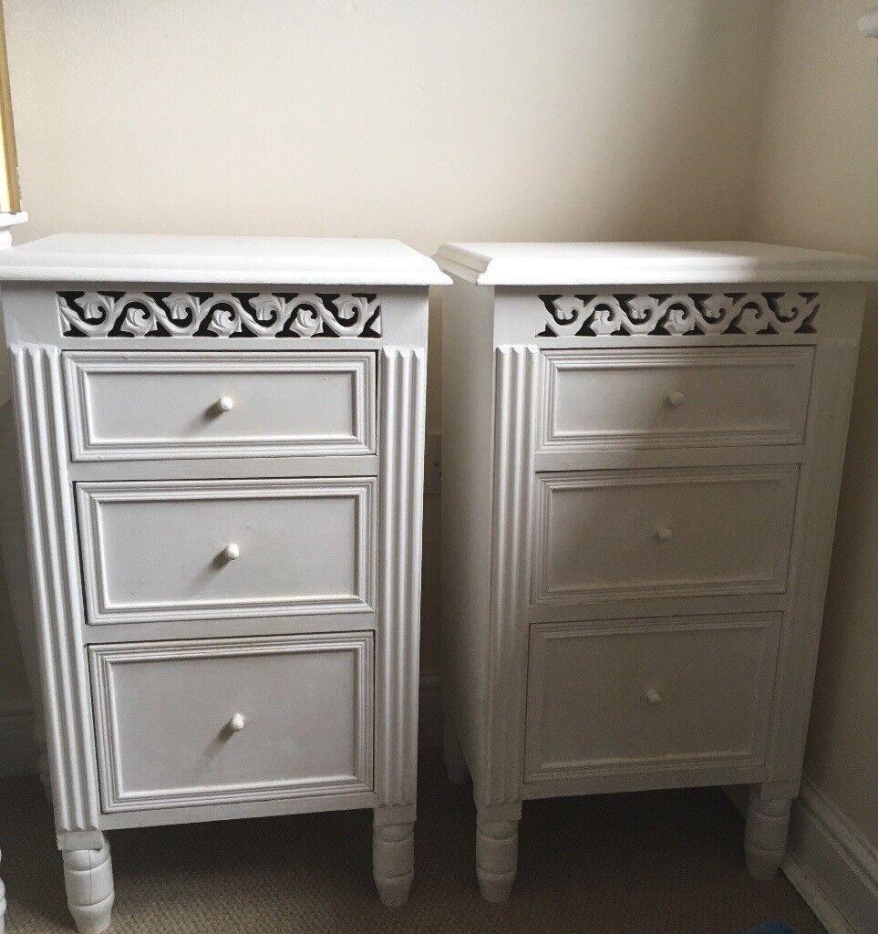 bedroom furniture bedside tables. White Belgravia Bedroom Furniture Bedside Tables D