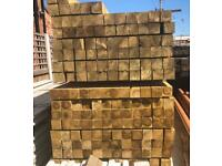 🌞 *New* Pressure Treated Wooden/ Timber Posts