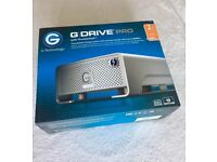 G-tech G-drive pro 2TB with thunderbolt