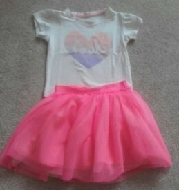 Girls clothes bundle size 18-24 months