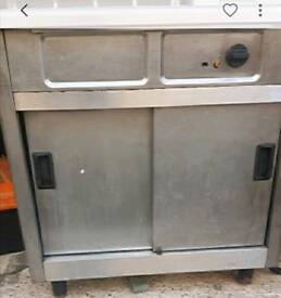 Commercial oven food warmer Stainless steel fully working