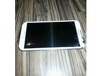 Samsung galaxy 2 note II. Gt-N7100. WHITE 16GB mobile phone unlocked free case please read full ad