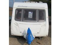 SWIFT ARCHWAY TWYWELL 2009 *FIXED BED*MOTOR MOVER*AWNING* 4 BERTH CARAVAN
