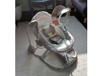 Almost new Ingenuity Candler ConvertMe Swing-2-Seat Rocking Seat