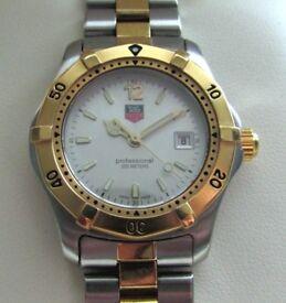 Tag Heuer 2000 Series Ladies Watch Steel & Gold, Silver Dial WK1320 **Buy Online**