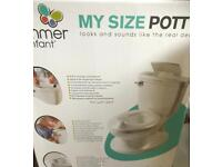 Summer infant My size potty toilet seat