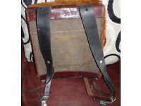 WW1 WW2 GERMAN ARMY TORNESTER BACKPACK, 1938 AND UNIT STAMPINGS