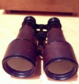 Rare Ww1 Ww2 antique vintage french navy army binoculars