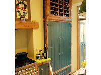 Urban style hand made larder / pantry cupboard