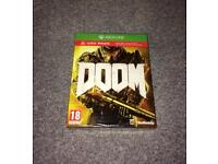 Doom Xbox one game sealed
