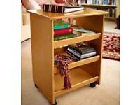 SCOTTS OF STOW - Multi-purpose Storage Table with Castors Brand New - Rrp £ 99.95 - Sale